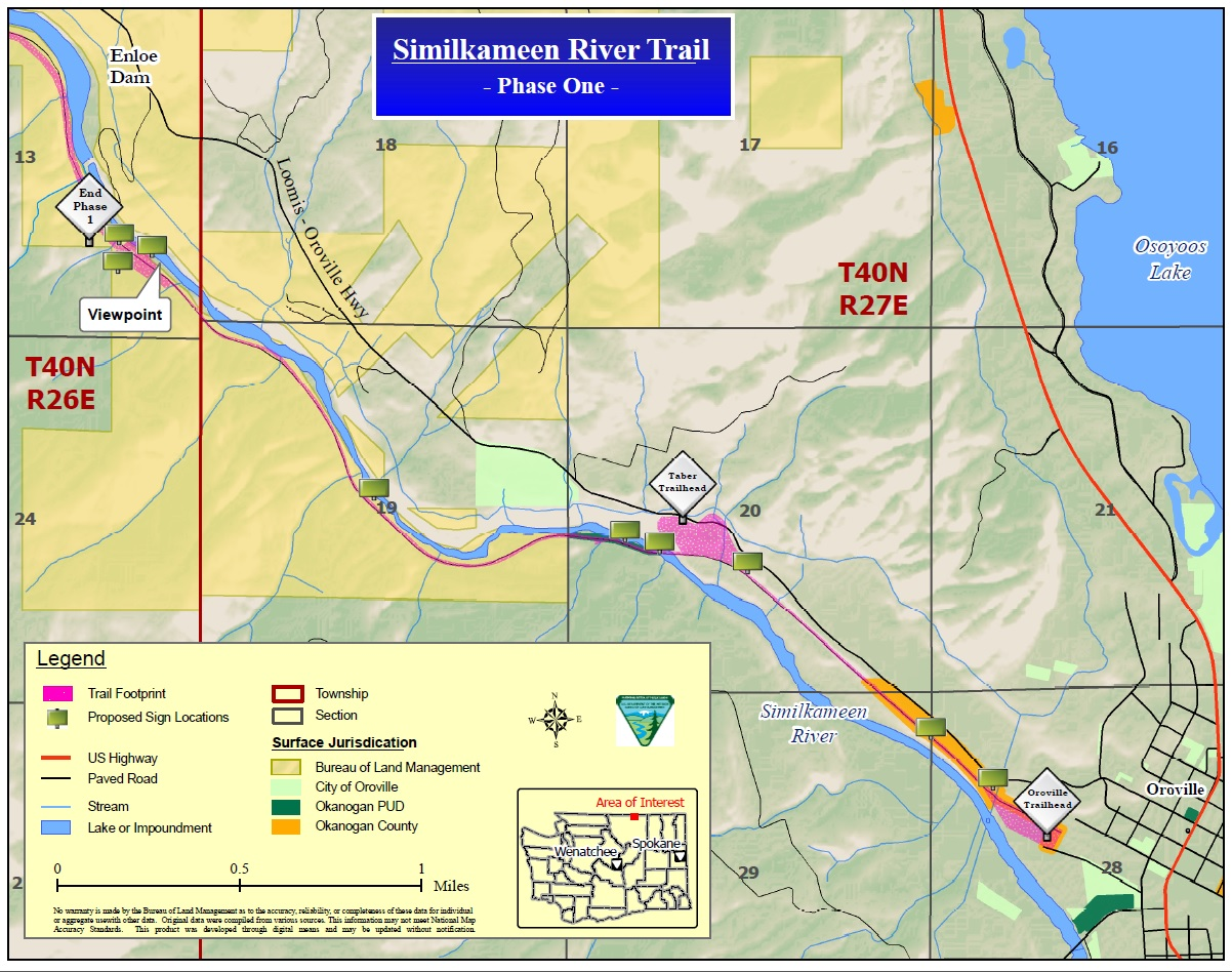 BLM Similkameen Trail EA Map