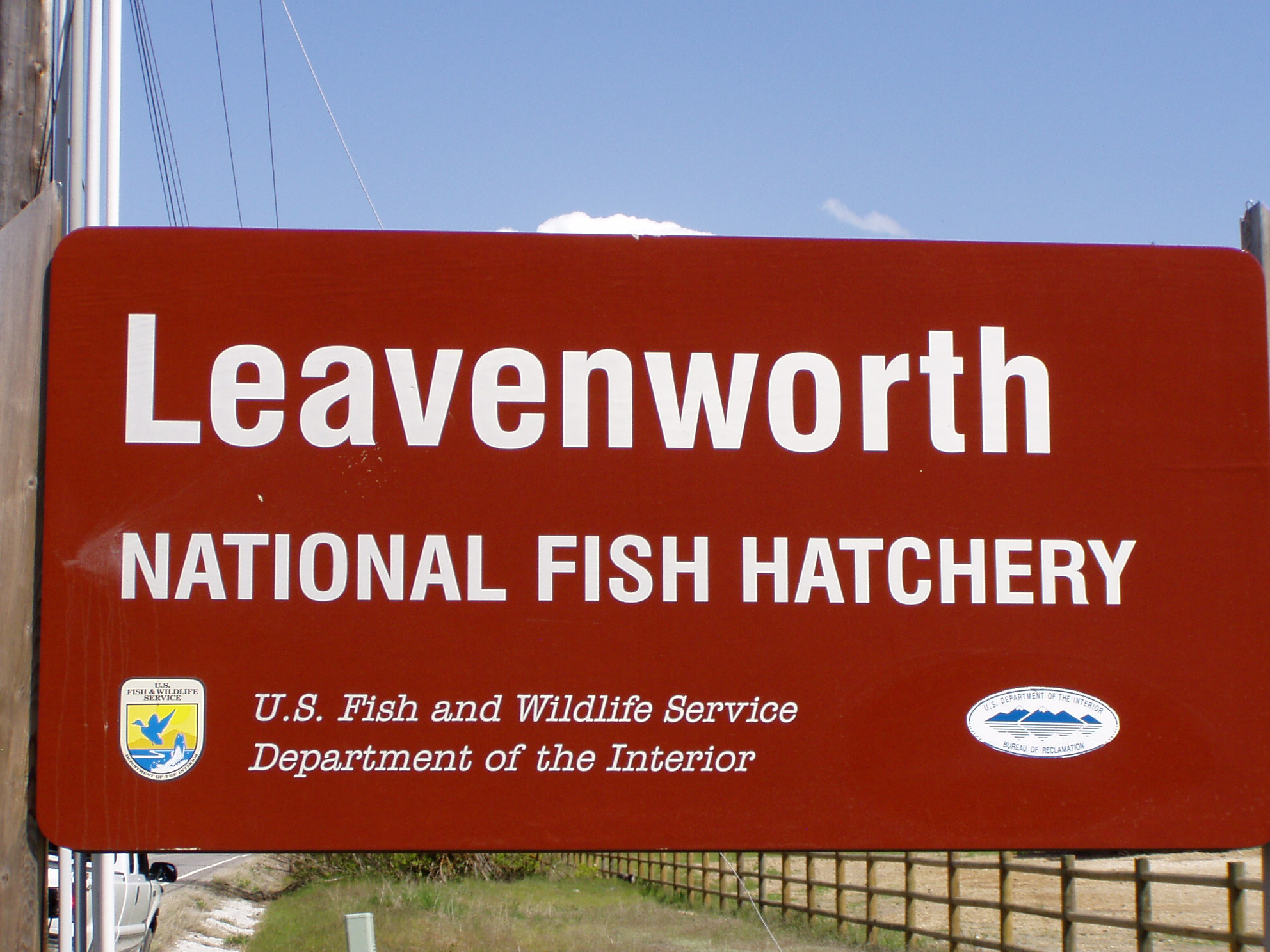 Leavenworth National Fish Hatchery - photo by John Osborn